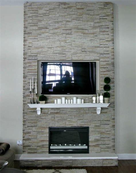 diy fireplace building a fireplace using veneer