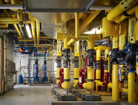 mechanical room matt completes the conrad n foundation headquarters matt construction