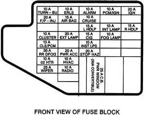 2005 Toyota Corolla Fuse Box Diagram Chevrolet Cavalier Questions My Headlights And Wipers