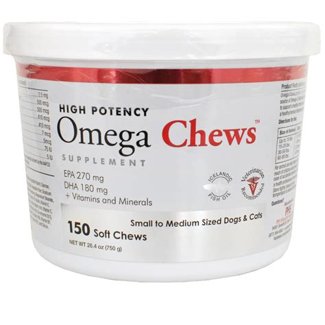 small to medium sized dogs omega chews for small to medium sized dogs cats 150 soft chews healthypets
