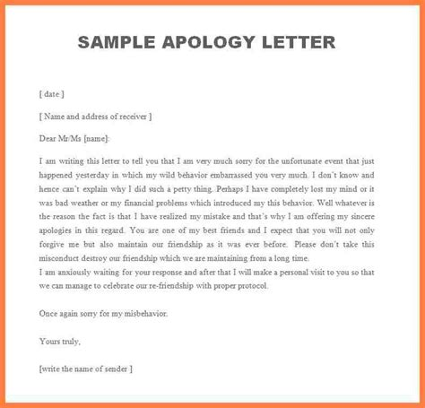 business apology letter sle to 28 images professional