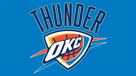 okc thunder colors oklahoma city thunder logo oklahoma city thunder symbol