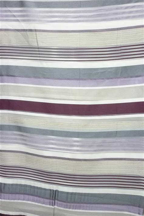 vorhang grau weiß gestreift deko stoff gardine vorhang gestreift wei 223 lila beere