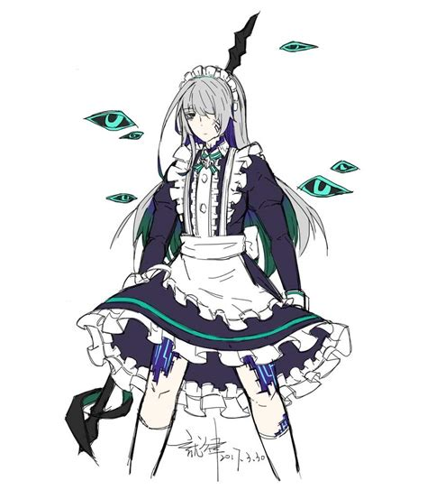 xos lus were not 100 sure yet about his long 70s shag haircut fool s day maid ain elsword amino