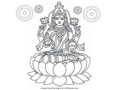 printable coloring pages for diwali coloring pages diwali colouring pages for kids acticity
