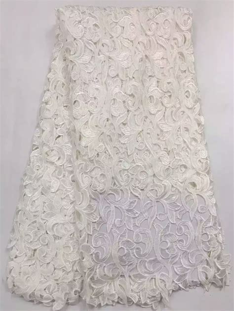 aliexpress lace aliexpress com buy white cord lace 5yard lot african