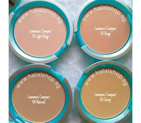 Bedak Tabur Wardah Luminous halal cosmetics singapore wardah everyday luminous