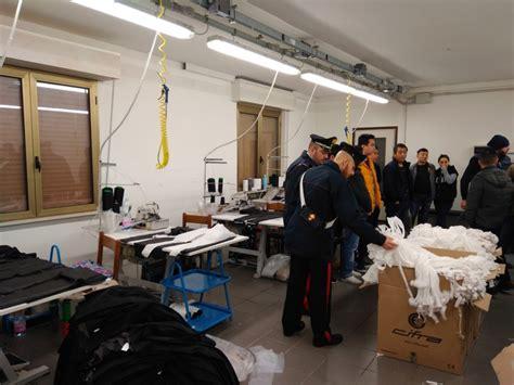 carabinieri volta mantovana lavoratori senza contratto nei guai imprenditore asiatico