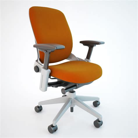 Leap Office Chair by Steelcase Leap Office Chair 3d Model Max Obj Fbx