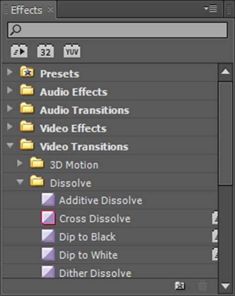 adobe premiere pro audio effects miscellaneous windows in the adobe premiere workspace