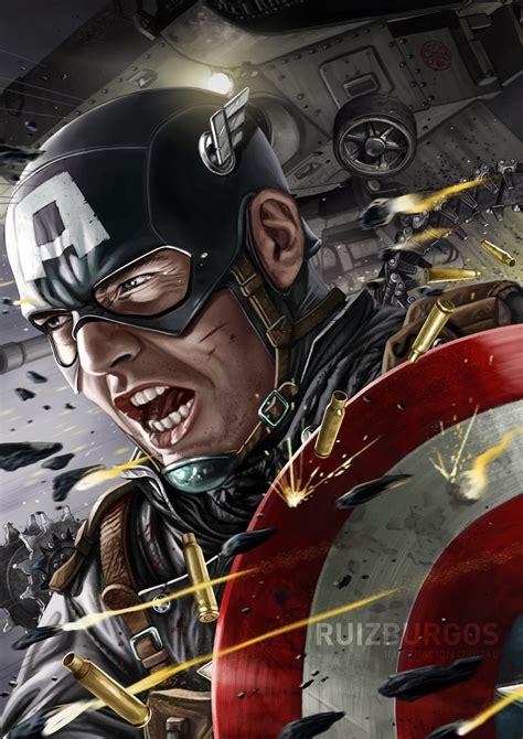 Captain America Marvel America 1 marvel s captain america by ruizburgos on deviantart
