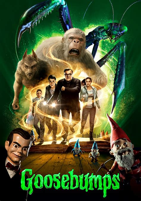film goosebump goosebumps movie fanart fanart tv