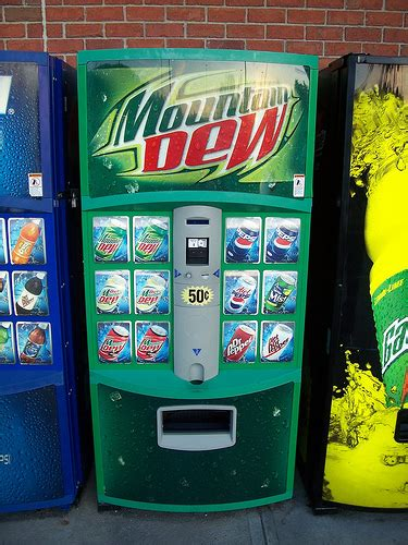 mountain dew vending machine mountain dew vending machine a photo on flickriver