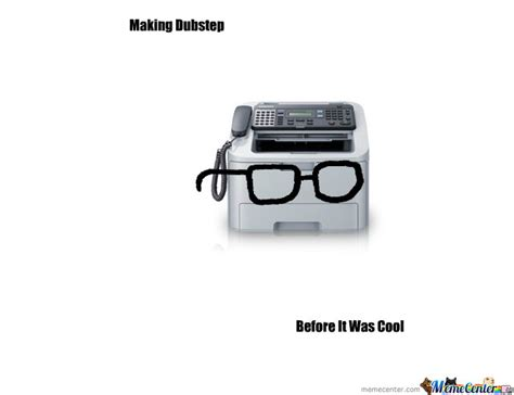 hipster fax machine by judas staley meme center