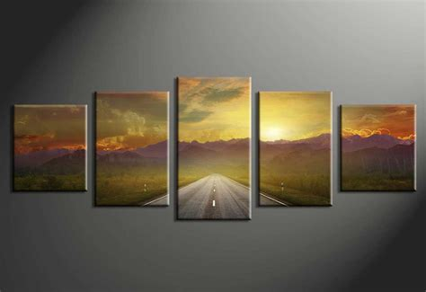 decoration piece multi piece canvas wall art with 5 piece wall art home