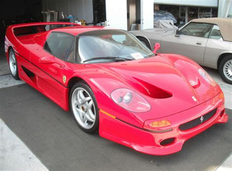 ferraris for sale on ebay fbi crashed f50 for sale on ebay