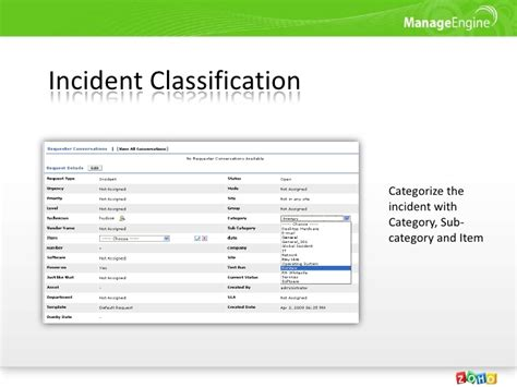 itil incident management policy template images