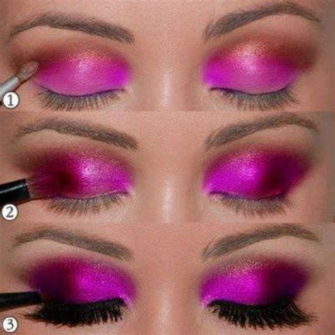 tutorial make up lipstik pink 30 glamorous eye makeup ideas for dramatic look style