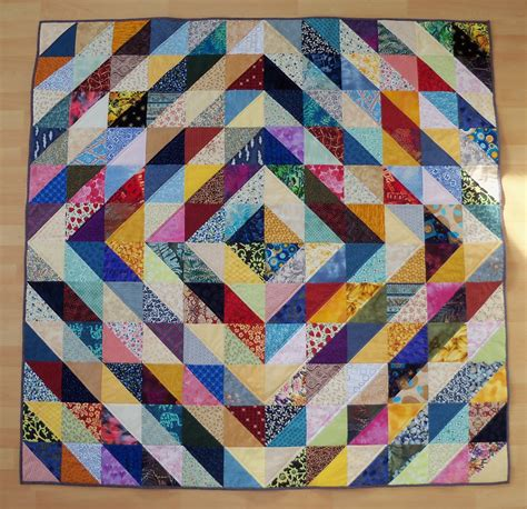 Half Triangle Quilt Patterns by Sew Lovely Value Quilt Half Square Triangles