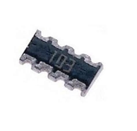 10k resistor array 10k ohm smt resistor network array bourns cat16 103j4 west florida components