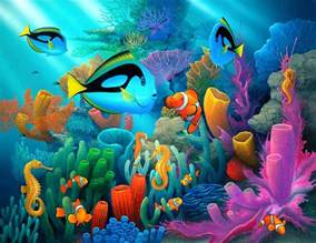 Whimsical Wall Murals underwater world wallpapers hd pictures one hd wallpaper