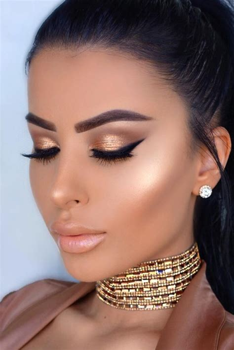 black prom dress makeup prom makeup as special accent for prom dress ǀ