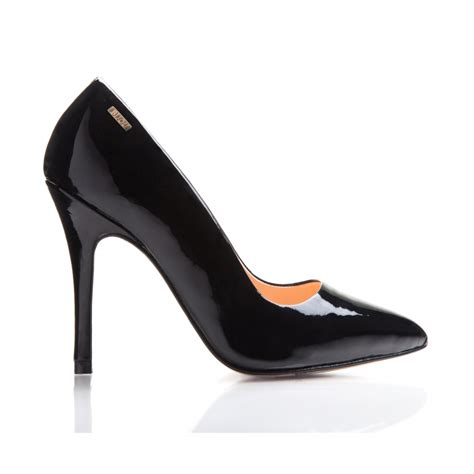 bijou margot leather patent court shoe shoe