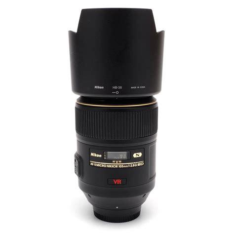 nikon 105mm f2 8 micro af s nikkor g ed n vr lens sn