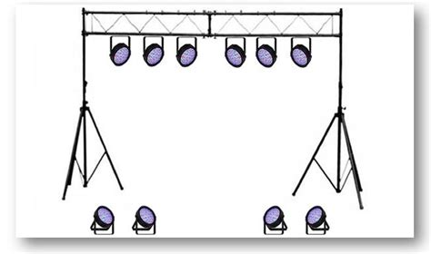 led stage lighting package academy audio stage and band lighting hire package