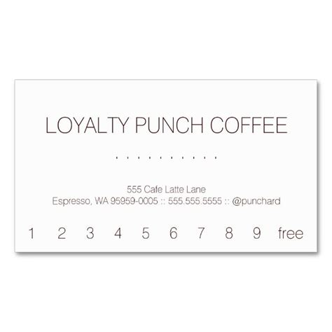 customer loyalty punch cards templates 1570 best images about customer loyalty card templates on