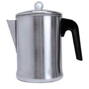 coffee pot walmart primula stove top aluminum coffee percolator walmart