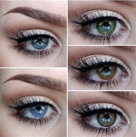 cheap colored eye contacts the 25 best colored contacts ideas on