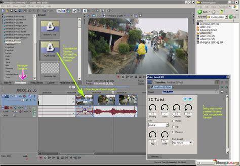 tutorial membuat video dengan sony vegas tutorial sony vegas pro rumah berbagi ilmu bertanya