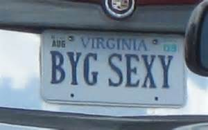obnoxious vanity license plates personalized plates