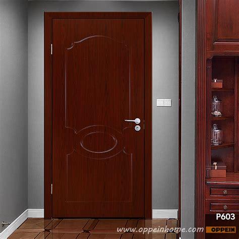 Wood Grain Interior Doors Interior Doors Modern Wood Grain Pvc Hinged Door Oppeinhome
