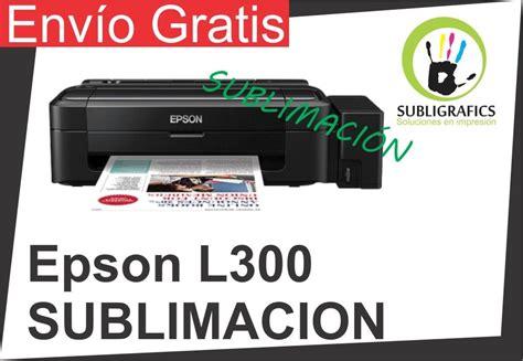 Tinta Infus Epson L300 Epson L300 Sublimacion Tinta Continua 3 590 00 En