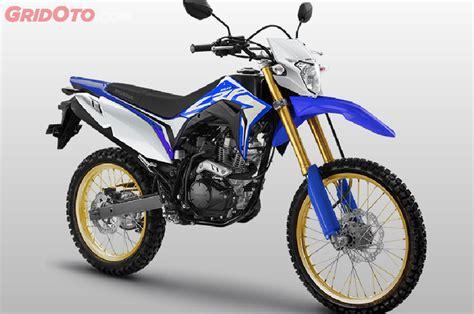 Pelindung Mesin Crf 150 Lho Kok Ada Honda Crf150l Warna Biru Apakah Ahm Merilis