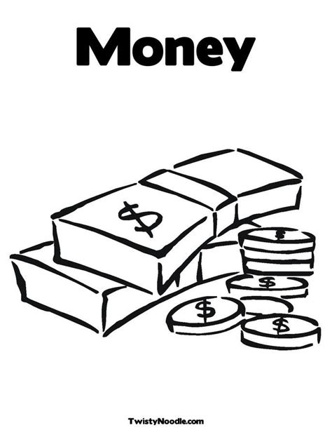 coloring pages with money coins coloring page coloring home