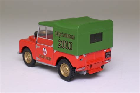 Oxford Land Rover Christmast 2010 oxford diecast land rover series 1 80in special 2010 excellent boxed ebay