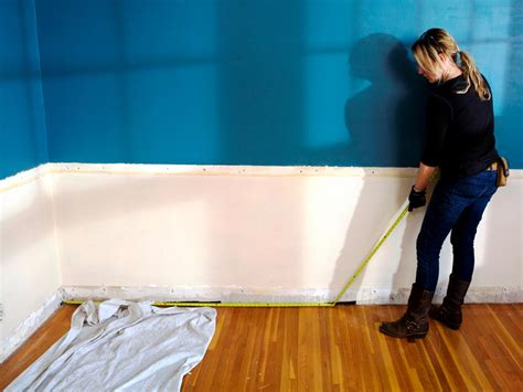 How To Measure For Wainscoting by How To Install Recessed Panel Wainscoting How Tos Diy