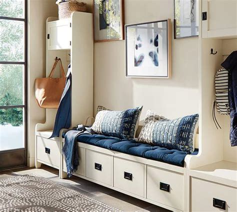 white mudroom bench white mudroom storage