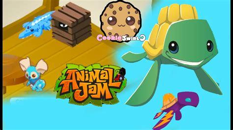 cookieswirlc plays  animal jam gaming video creating