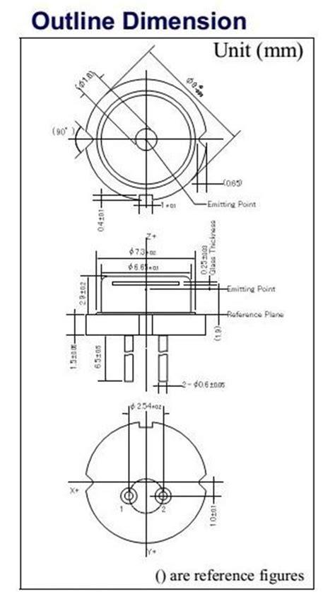 laser diode divergence nichia laser diode ndb7a75