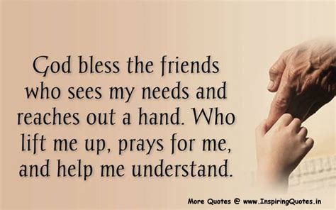 thoughts for friends god bless the friend quotes inspirational friends quotes