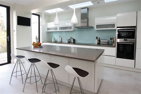 Contemporary Kitchen Islands With Seating Kitchen Islands With Seating Kitchen Contemporary With Glass Splashback German Kitchen