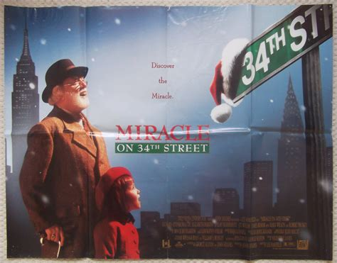 miracle on 34 street miracle on 34th street original uk quad poster richard