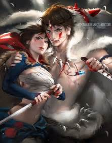 Check out this gender bending disney art from sakimichan mom