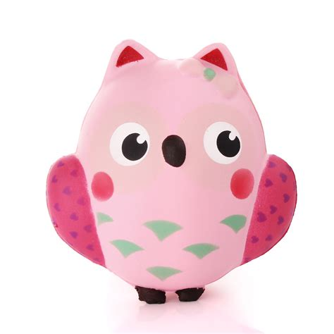 Owl Home Decor Accessories by 13cm Squishy Cute Simulation Owl Super Slow Rising Bread