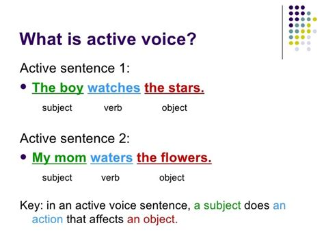 what is the sentence pattern of passive voice passive voice ingl 233 s