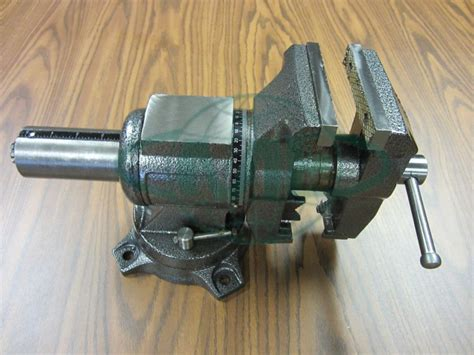 multi purpose bench vise 5 quot multi purpose rotating bench vise 850 rt5 new ebay